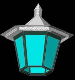 Planos de Lampara de jardin 3d, en Luminarias – Electricidad iluminación