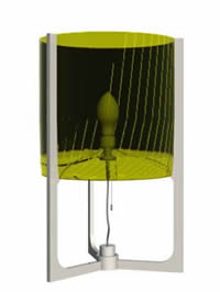 imagen Lampara de mesa 3d, en Luminarias - Muebles equipamiento