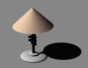 Planos de Lampara de mesa 3d, en Luminarias – Muebles equipamiento