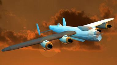 Lancaster en 3d, en Aeronaves en 3d – Medios de transporte