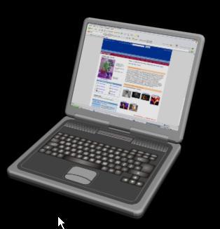 Laptop 3d, en Informática – Muebles equipamiento