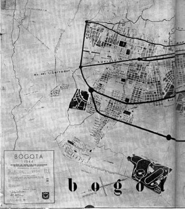 Las avenidas de bogota, en Centros históricos urbanos – Historia