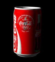 imagen Lata de coca cola 3d, en Objetos varios - Muebles equipamiento