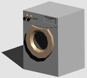 Planos de Lavadora 3d, en Electrodomésticos – Muebles equipamiento