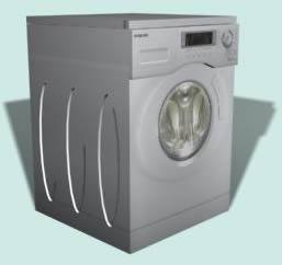 Lavadora, en Electrodomésticos – Muebles equipamiento