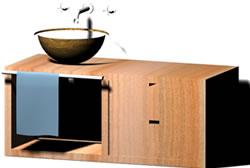 Lavamanos 3d, en Baños – Muebles equipamiento