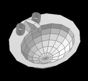 Planos de Lavamanos 3d, en Lavatorios – Sanitarios
