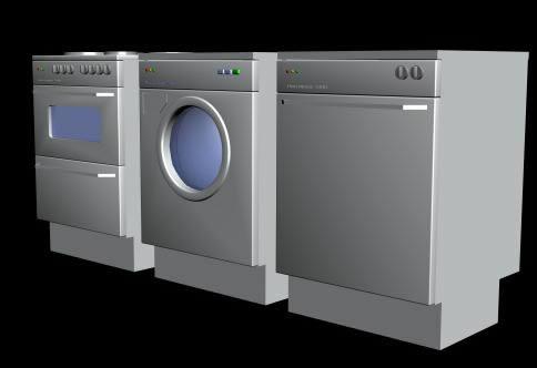 Lavarropas 3d, en Electrodomésticos – Muebles equipamiento