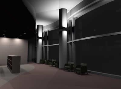 Libreria 3d, en Comercios varios – Proyectos