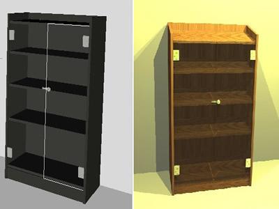 Planos de Librerias aulas de la e.s.o., en Educación – Muebles equipamiento