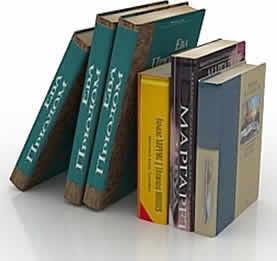 Libros 3d, en Educación – Muebles equipamiento