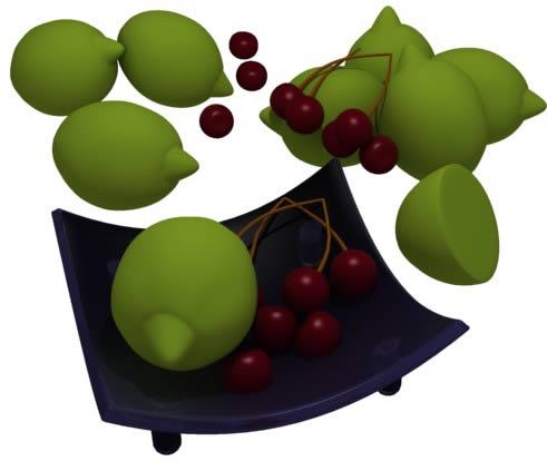 imagen Limones, en Objetos varios - Muebles equipamiento