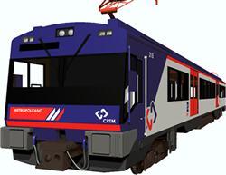 imagen Locomotora -2100-mc-3d, en Ferrocarriles - Medios de transporte