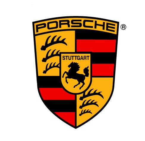 Logo porsche, en Logos y escudos – Símbolos