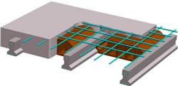 Losa alivianada, en Cubiertas – estructuras – Detalles constructivos