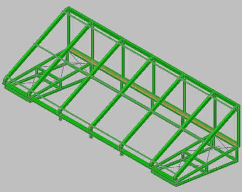 Planos de Lucernario 3d, en Lucernarios – Aberturas
