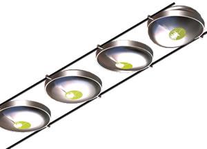 imagen Luces dicroicas en aluminio plafón, en Luminarias - Muebles equipamiento