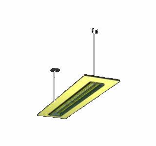 Planos de Luminaria ultra flat 3d, en Luminarias – Electricidad iluminación