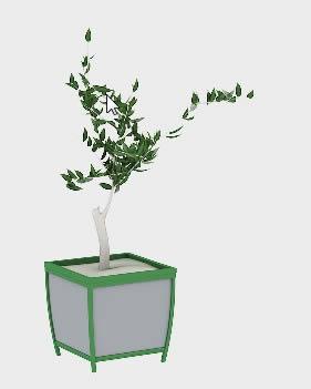 imagen Maceta, en Plantas de interior 3d - Arboles y plantas