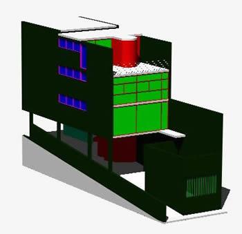 Planos de Maison cannell 3d, en Residencias y palacetes – Historia