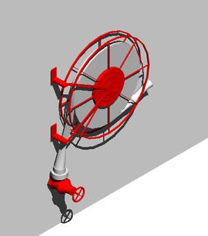 Planos de Manguera contra incendios 3d, en Instalaciones contra incendios – Instalaciones