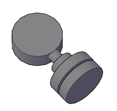 imagen Manometro3d, en Válvulas tubos y piezas - Máquinas instalaciones