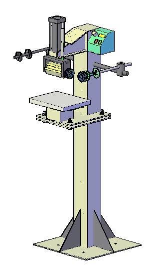 Planos de Maquina de estampar en caliente, en Maquinaria – proyectos varios – Máquinas instalaciones