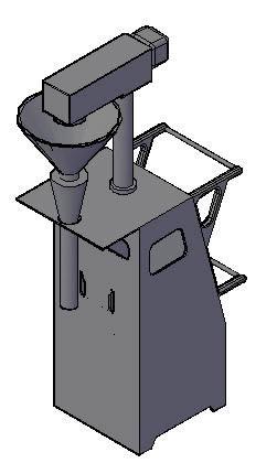 Planos de Maquina kafesuaw 3d, en Maquinaria para industria de la alimentación – Máquinas instalaciones
