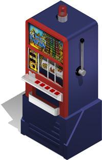 Planos de Maquina tragamonedas de rodillo en 3d incluye imagenes en jpg para las figuras   y la tabla dpremios, en Casinos y casas de juego – Muebles equipamiento