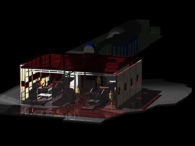 imagen Maquinas industriales 3d, en Maquinaria para industria de la alimentación - Máquinas instalaciones