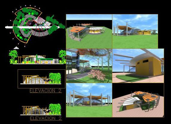 Planos de Mariposario, en Proyectos varios – Proyectos