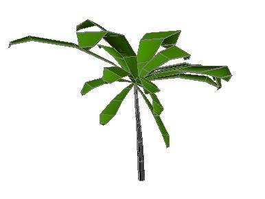 imagen Mata - palmera 3d, en Palmeras en 3d - Arboles y plantas