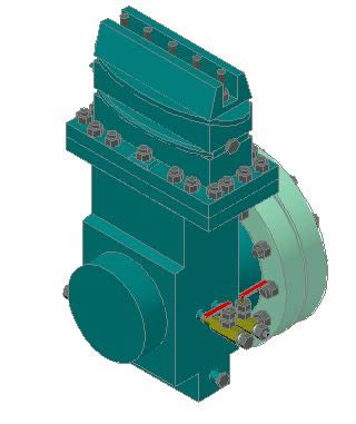 imagen Medidor placa de orificio 3d, en Equipos de bombeo - Máquinas instalaciones