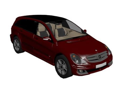 Mercedes clase s 3d, en Automóviles en 3d – Medios de transporte