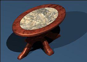 imagen Mesa 039, en Mesas y juegos de comedor 3d - Muebles equipamiento