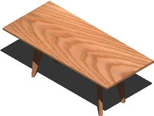 imagen Mesa 3d, en Mesas y juegos de comedor 3d - Muebles equipamiento