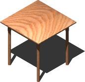 Mesa 3d, en Mesas y juegos de comedor 3d – Muebles equipamiento
