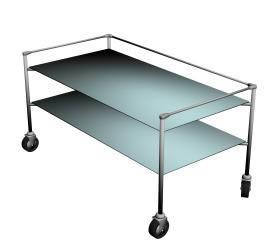 Mesa bandeja doble 3d, en Mesas y juegos de comedor 3d – Muebles equipamiento