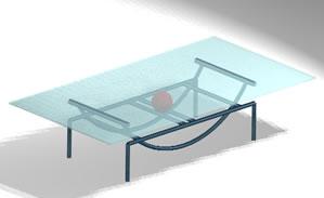 imagen Mesa centro 3d, en Mesas y juegos de comedor 3d - Muebles equipamiento