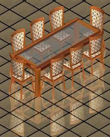 imagen Mesa comedor 3d, en Mesas y juegos de comedor 3d - Muebles equipamiento