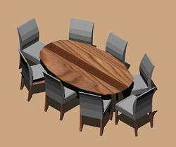 imagen Mesa conferencia, en Mesas y juegos de comedor 3d - Muebles equipamiento