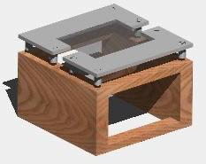 Planos de Mesa de centro 3d, en Mesas y juegos de comedor 3d – Muebles equipamiento