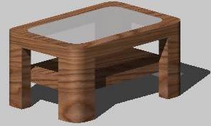 imagen Mesa de centro 3d, en Mesas y juegos de comedor 3d - Muebles equipamiento