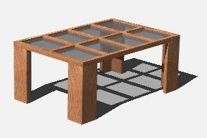 imagen Mesa de centro en 3d, en Mesas y juegos de comedor 3d - Muebles equipamiento