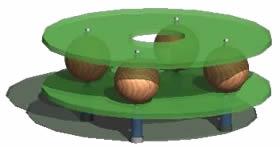 Planos de Mesa de centro, en Mesas y juegos de comedor 3d – Muebles equipamiento