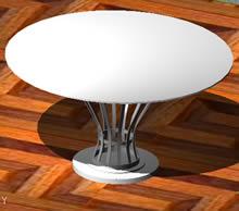 Planos de Mesa de comedor 3d, en Mesas y juegos de comedor 3d – Muebles equipamiento