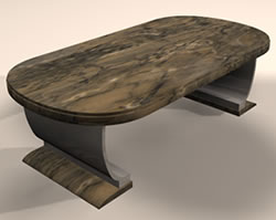 Mesa de comedor 3d, en Mesas y juegos de comedor 3d – Muebles equipamiento