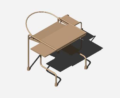 Planos de Mesa de computo 3d, en Escritorios – Muebles equipamiento