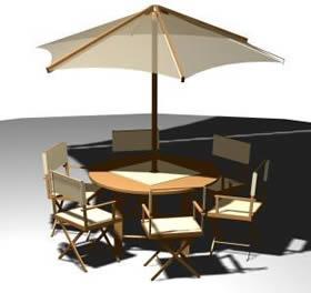 Mesa de jardín, en Mesas y juegos de comedor 3d – Muebles equipamiento