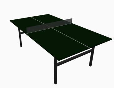 Mesa de ping pong 3d, en Juegos – Muebles equipamiento
